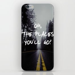 Oh The Places You'll Go iPhone Skin