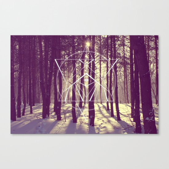 Just Know Canvas Print