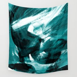 Abstract Artwork Petrol #1 Wall Tapestry
