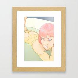 Tub Time Framed Art Print