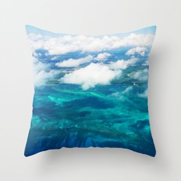 499 - Abstract Aerial Design Throw Pillow