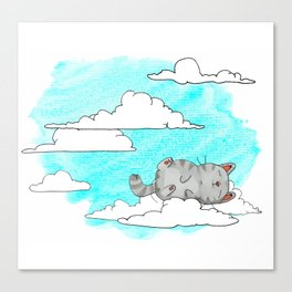 Sky Cat Canvas Print