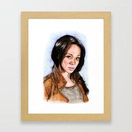 Abbie Mills Sleepy Hollow Framed Art Print