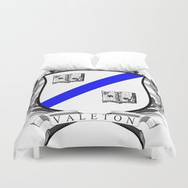 Valeton University Crest Duvet Cover