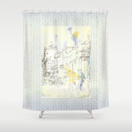 Nothing,my dear, endures Shower Curtain