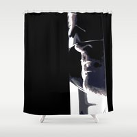 law Shower Curtains featuring I Am The Law by Stackshotbill
