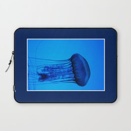 Jelly in the Blue Laptop Sleeve