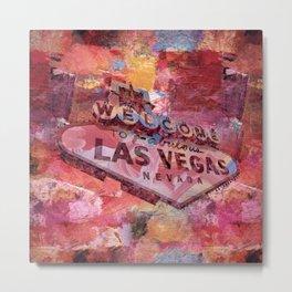 Welcome to Las Vegas Metal Print