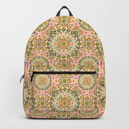 Pink Carousel Mandalas Backpack