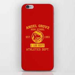 Angel Grove iPhone Skin