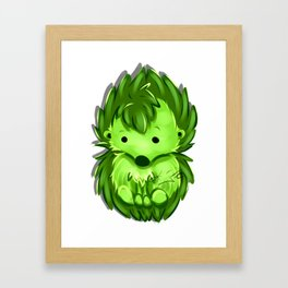 HedgeNugget Framed Art Print