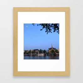 AMS dusk Framed Art Print