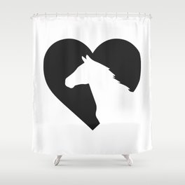 horse horse horse love animal love gift rider equestrian sport Shower Curtain