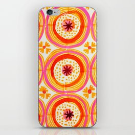 Happy Circles iPhone Skin