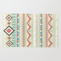 native Area & Throw Rugs featuring Native by Nika