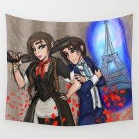 bioshock Wall Tapestries featuring Bioshock Gender Swapy by Phantasmic Dream