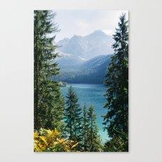 Eibsee #2 Canvas Print