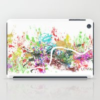 london map iPad Cases featuring London by Nicksman