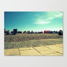 Brighton Beach Canvas Print