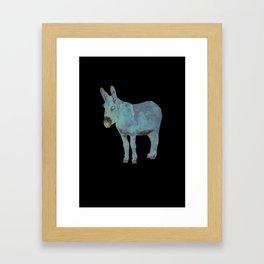 Animal Slang - Donkey Framed Art Print