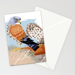 Lesser kestrel Stationery Cards