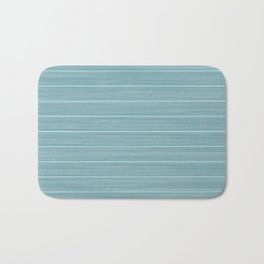 Island Paradise Blue Weathered Whitewash Wooden Beach House Bath Mat