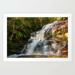 Somersby Falls, Central Coast, NSW, Australia Art Print