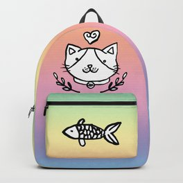 Cat doodles Backpack