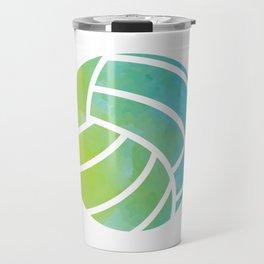 Watercolor Pattern Volleyball Player Gift  Travel Mug