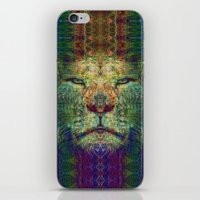 the lion king iPhone & iPod Skins featuring Lion King by Zandonai