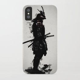 Armored Samurai iPhone Case