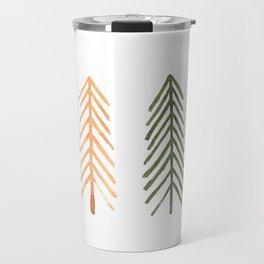 Simple Scandinavian print Travel Mug