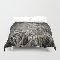 greek Duvet Covers featuring Greek goddess Gaia. by Viviana Gonzalez