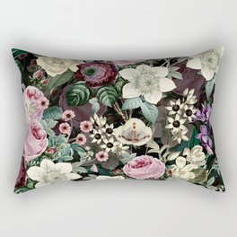 Vintage  & Shabby Chic - Mystical Night Flower Dance Rectangular Pillow