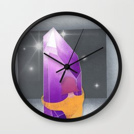 Don't fall into the darkness Wall Clock
