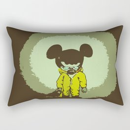 Breaking mouse Rectangular Pillow