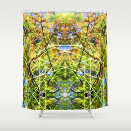 GeoBotanica V2 Shower Curtain