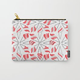 RED CONE / pattern pattern Carry-All Pouch