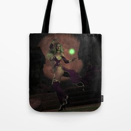 Blood Moon Sorceress Tote Bag