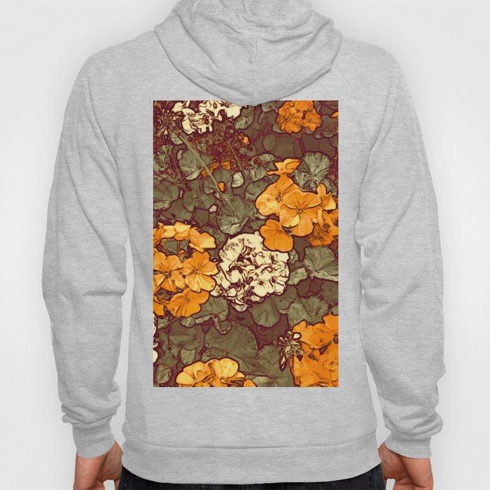 Orange Geranium, Plant of Feminine Healing Hoody