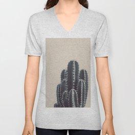 Vintage Cactus #1 Unisex V-Neck
