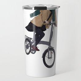 Cycling Back from Work Travel Mug
