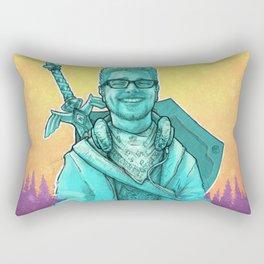 The Legend Of Robert Rectangular Pillow