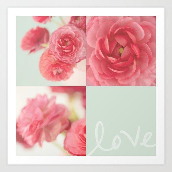Beauty is a fading flower Art Print
