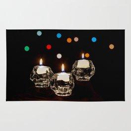 Holiday Candles Rug