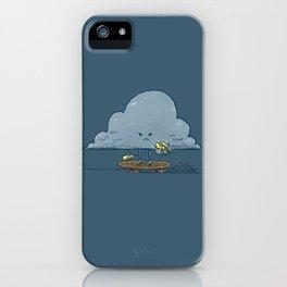 Thunder Cloud Skater iPhone Case