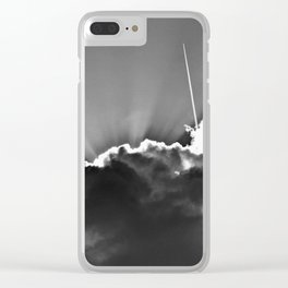 Liftoff Clear iPhone Case