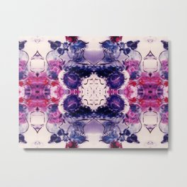 Wine & Flowers Photographic Pattern #2 Metal Print