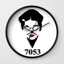 Rosa Parks Portrait Wall Clock