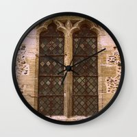window Wall Clocks featuring Window by 2sweet4words Designs